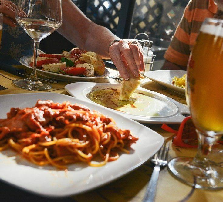 Italiensk mat är njutning